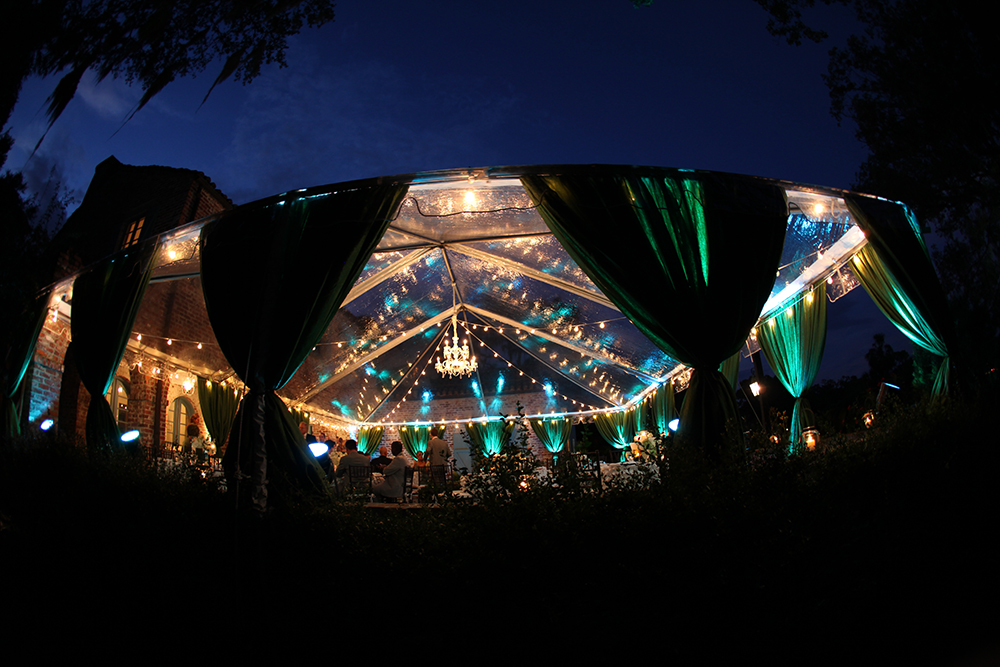 Tent: Market Lights & Chandelier Design